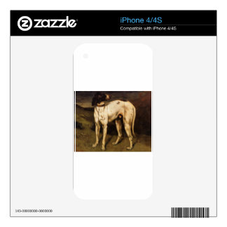 Dog from Ornans by Gustave Courbet Skins For iPhone 4S
