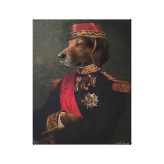 Dog General Canvas Print