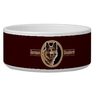 Dog German Shepherd Bowl