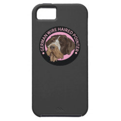 Dog german wirehaired pointer iPhone SE/5/5s case