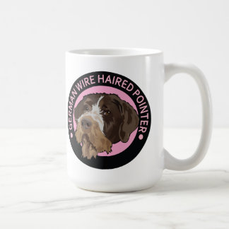 Dog german wirehaired pointer mug