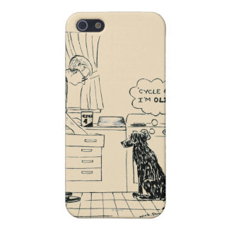 Dog Getting Older iPhone 5 Covers
