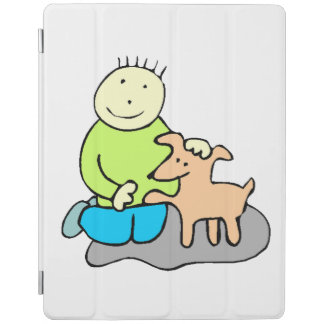 Dog Giving Paw iPad Cover