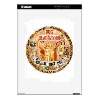 DOG GLADIATORS iPad 2 DECALS