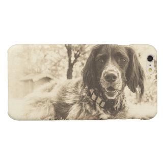dog glossy iPhone 6 plus case