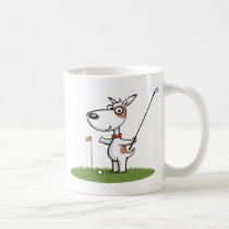 Dog Golf Coffee Mug
