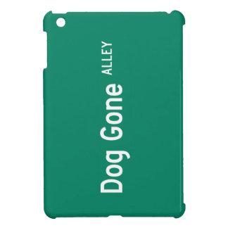 Dog Gone Alley, Street Sign, California, US iPad Mini Case