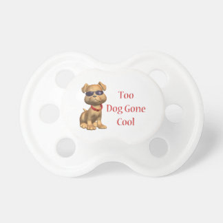 Dog Gone Cool Doggy BooginHead Pacifier