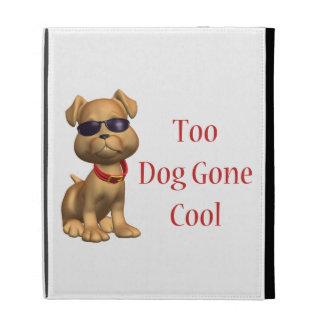 Dog Gone Cool Doggy iPad Folio Cover