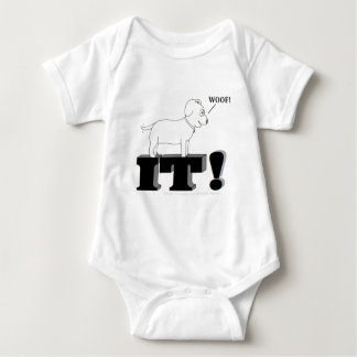 Dog Gone It! Baby Bodysuit