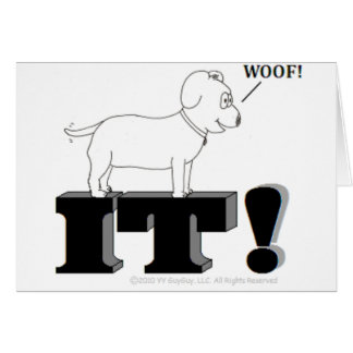 Dog Gone It! Card