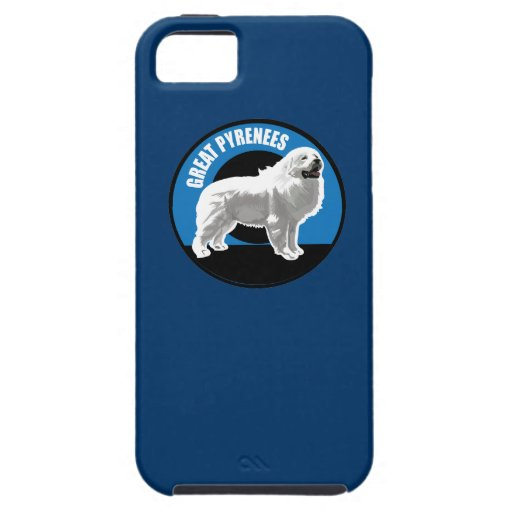 Dog Great Pyrenees iPhone 5 Case