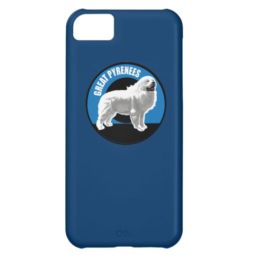 Dog Great Pyrenees Case For iPhone 5C