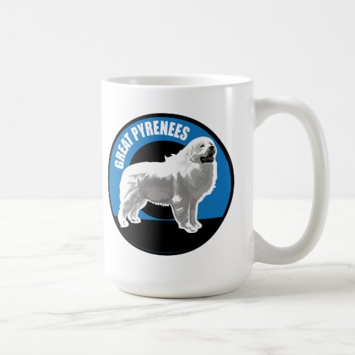 Dog Great Pyrenees Coffee Mug