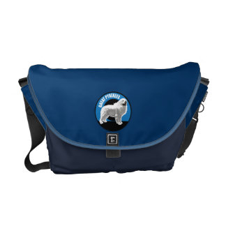 Dog Great Pyrenees Courier Bag