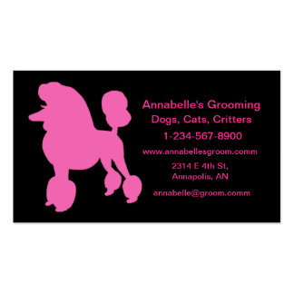 Dog Groomer Business Cards to Customize