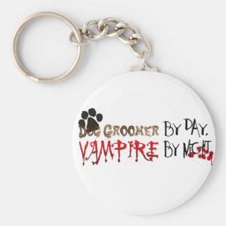 Dog Groomer by day, Vampire by night Keychain