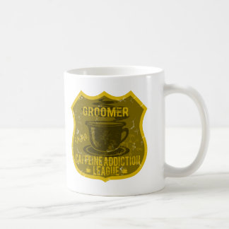 Dog Groomer Caffeine Addiction League Coffee Mug