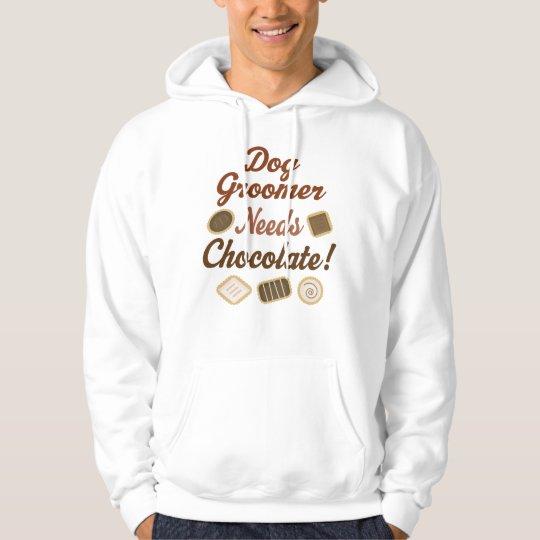 Dog Groomer Chocolate Hoodie