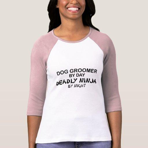Dog Groomer Deadly Ninja T-shirt
