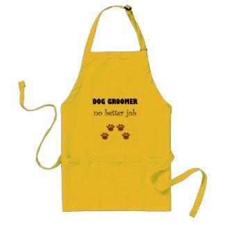 Dog Groomer Job Adult Apron