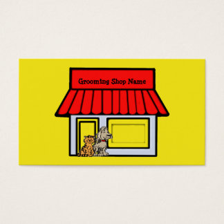 Dog Groomer Pet Products & Services Business Card