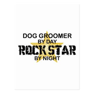 Dog Groomer Rock Star Postcard