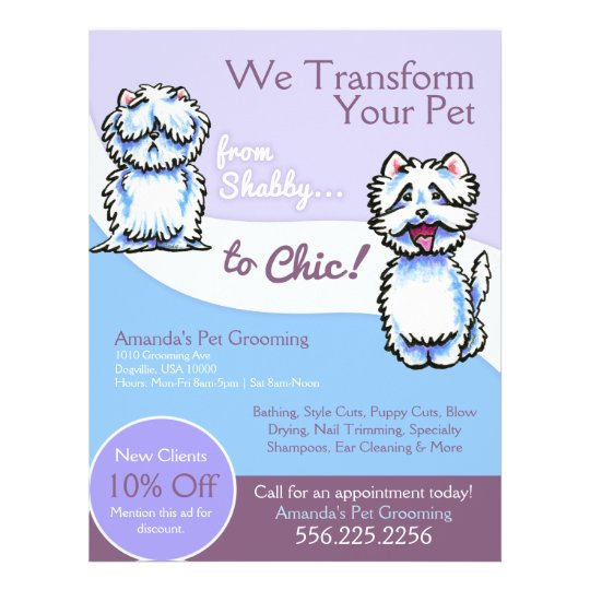 Shabby Chic Dog Grooming