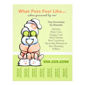 Dog Groomer Spa Shih Tzu Cucumber Tear Sheet
