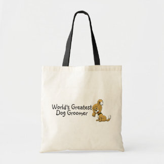 Dog Groomer Worlds Greatest Tote Bags