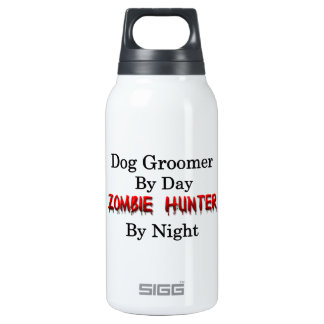 Dog Groomer/Zombie Hunter Insulated Water Bottle