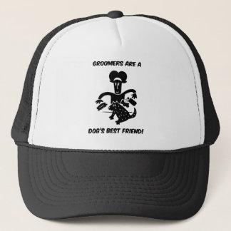 Dog groomers trucker hat