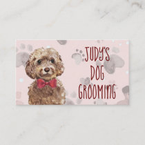 Dog Grooming Appointment Card