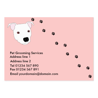 Dog Grooming Business Card