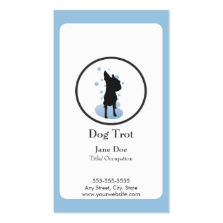 Dog Grooming Business Card Loyalty Card