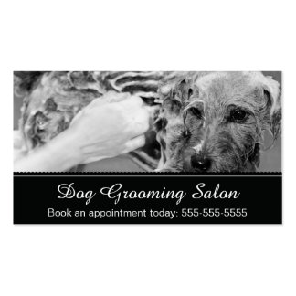 Dog Grooming Business Card - Personalizable