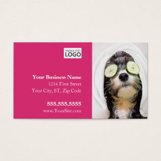 Dog Grooming Business Cards - Spa Design