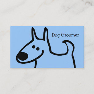 Dog grooming business cards zazzle dog grooming business cards colourmoves
