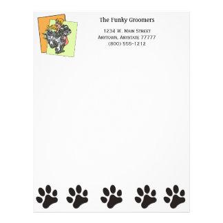 Dog Grooming Business Letterhead