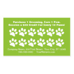 Dog Grooming Customer Reward Card - Loyalty Card Business Card Template