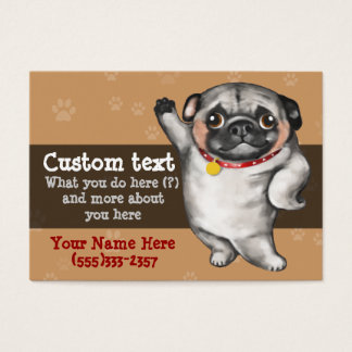 Dog Grooming Dog Groomer Dog Walker template Business Card