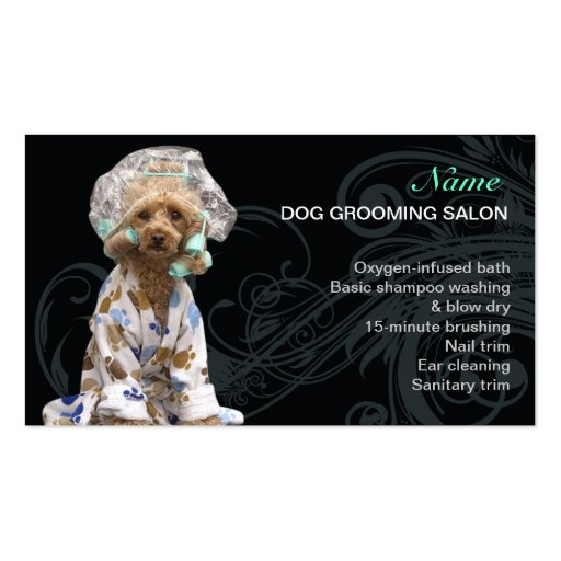 1000 dog grooming business cards and dog grooming for Grooming business cards