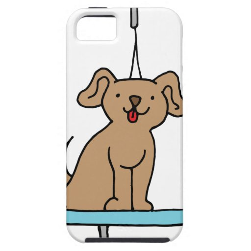 Dog grooming table iPhone SE/5/5s case