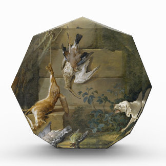 Dog Guarding Dead Game by Jean-Baptiste Oudry Award