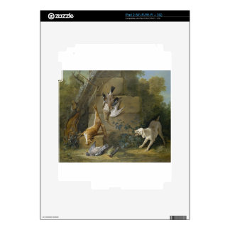 Dog Guarding Dead Game by Jean-Baptiste Oudry Skins For iPad 2