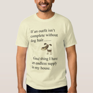 Dog Hair outfit T-shirt