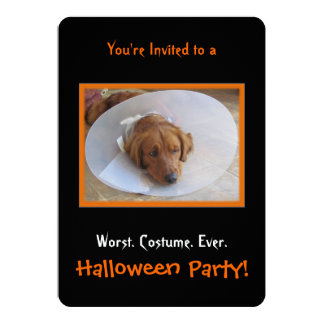 Dog Halloween Party Invitation