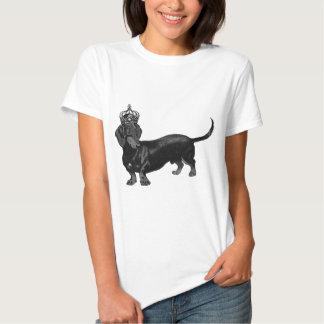 Dog Handsome Dachshund Crown Royal Tee Shirt