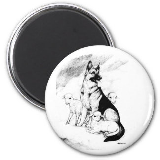 Dog Heaven Magnet
