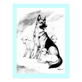 Dog Heaven Postcard